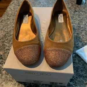 Jimmy Choo Gaze Flats 38.5